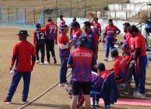 विश्व कप क्रिकेट लिग–२ को बन्द प्रशिक्षणका लागि २० खेलाडी छनाेट