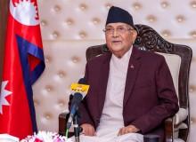 केपी ओली पुनः प्रधानमन्त्रीमा नियुक्त