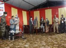 गण्डकी प्रदेशका नवनियुक्त मुख्यमन्त्री नेपाली तथा मन्त्रीद्वारा शपथ ग्रहण