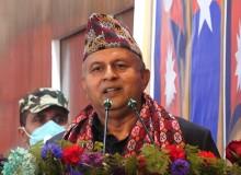 लुम्बिनी प्रदेशका मुख्यमन्त्री पोखरेलद्वारा राजीनामा