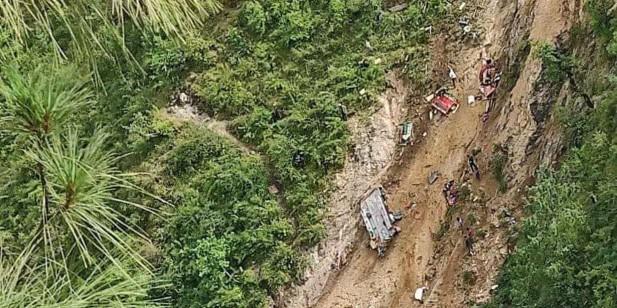 मुगु बस दुर्घटना : मृतक ३२ मध्ये २४ जनाको सनाखत